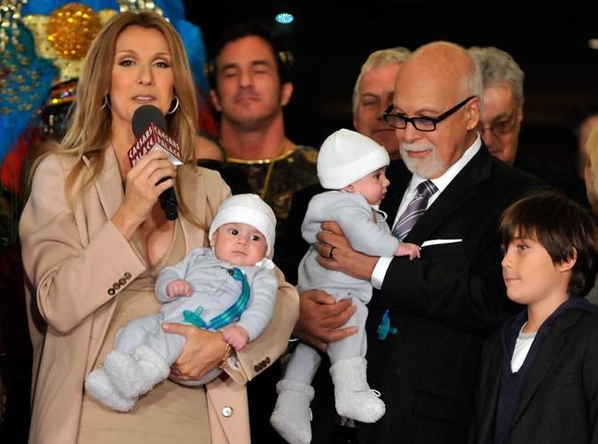 Céline Dion : elle appelait ses jumeaux A et B !