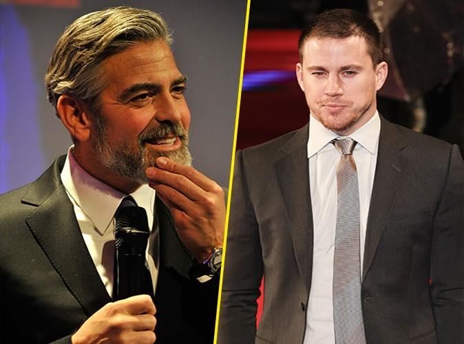 """Channing Tatum : """"Je serais prêt à coucher avec George Clooney !"""""""