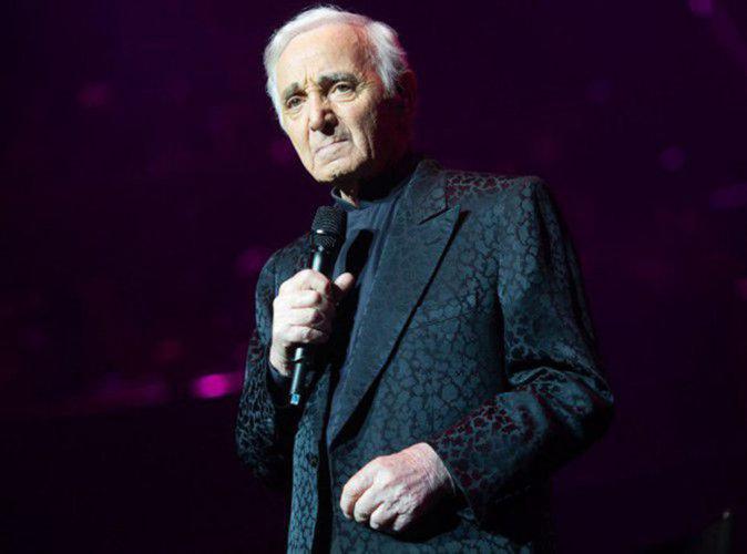 Charles Aznavour : malade, il est contraint d'annuler ses concerts !