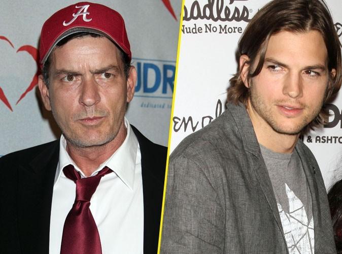 Charlie Sheen balance sur Ashton Kutcher !