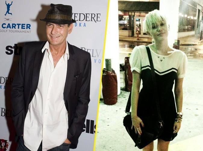 Charlie Sheen : il aime tellement la nouvelle coupe de Miley qu'il l'invite chez lui !