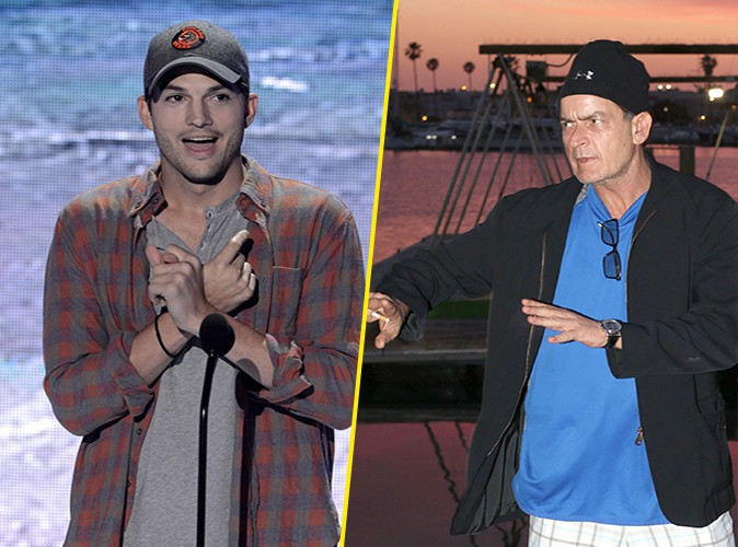 Charlie Sheen : il menace d'envoyer Ashton Kutcher à l'hôpital !