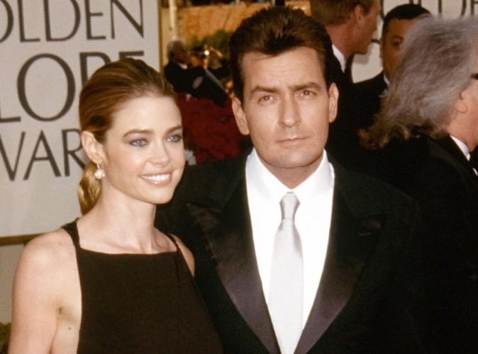 Charlie Sheen : Sur Twitter, il traite son ex compagne Denise Richards de tous les noms !
