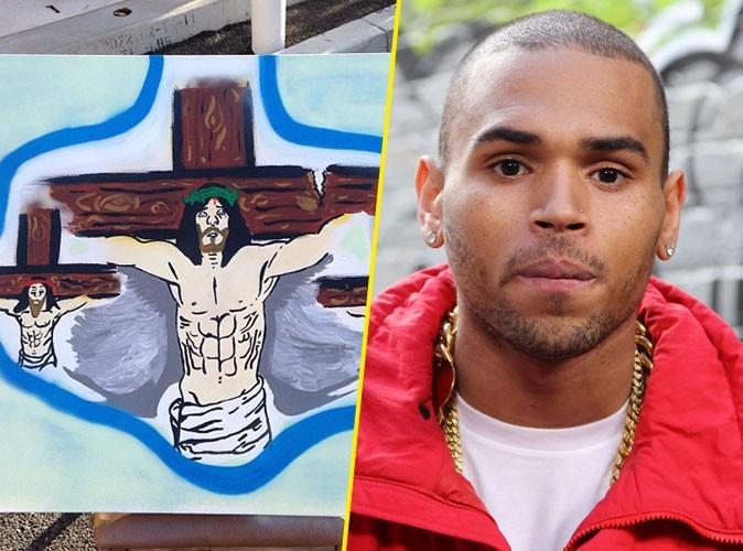 Chris Brown : et maintenant il se prend pour Jésus...
