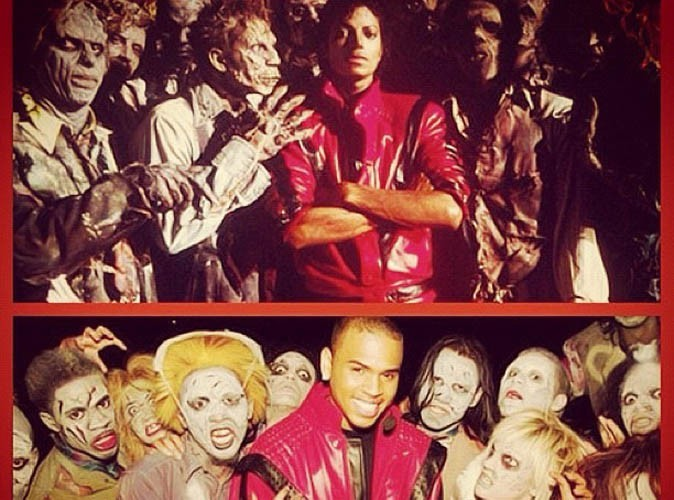 Chris Brown : il se prend pour Michael Jackson !