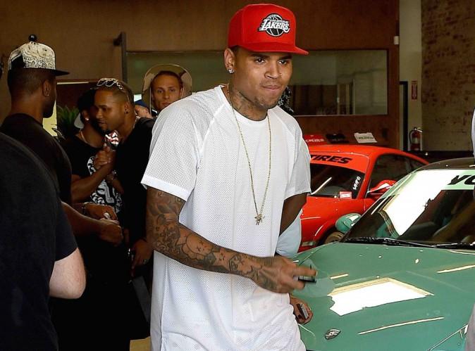 Chris Brown : si vous le croisez, n'essayez pas de l'embrasser !