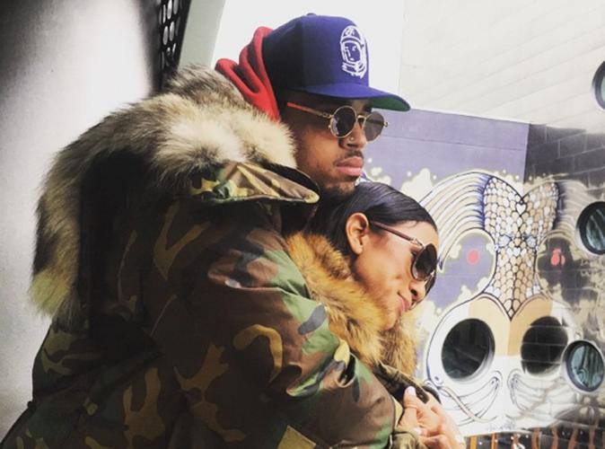 """Chris Brown tâcle en direct Karrueche Tran : """"Parle donc de ta carrière !"""""""
