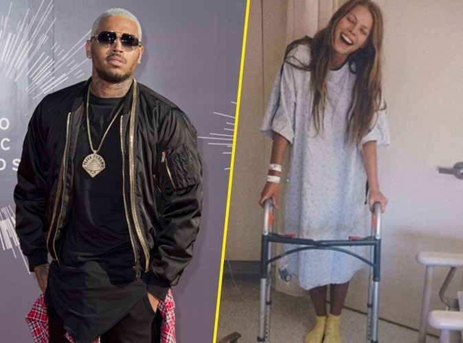 Chris Brown : victime de la fusillade, la top Megan Hawkins se remet de cet épisode effrayant !