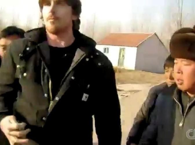 Christian Bale : il joue les héros en Chine et se fait malmener !