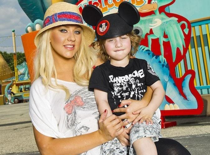 Christina Aguilera : sa merveilleuse journée avec son fils Max chez Mickey ...