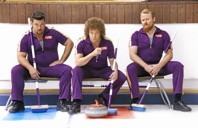 Le roi du curling d'Ole Endresen avec Atle Antonsen, Linn Skåber et Ane Dahl Torp