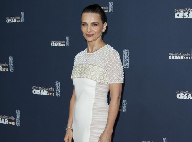 Comme Kristen Stewart, Juliette Binoche s'est ennuyée à la dernière cérémonie des César !