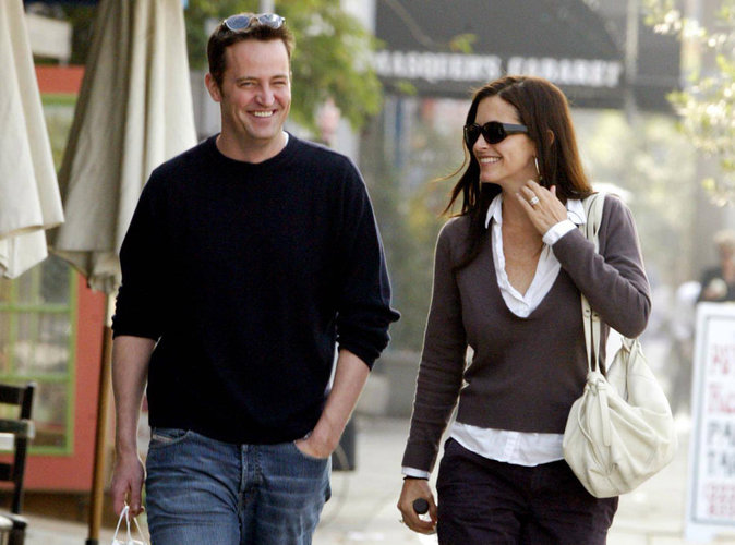 Courteney Cox et Matthew Perry : Monica et Chandler remettent le couvert !