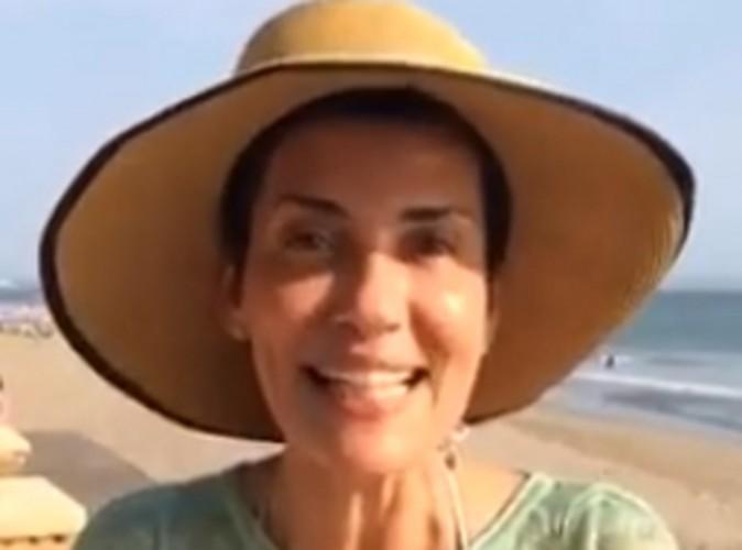 Cristina Cordula sans make-up pour célébrer son dernier jour à Bali !