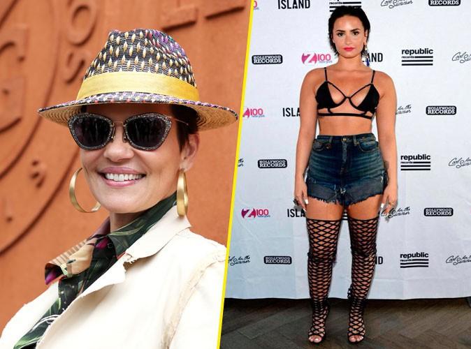 "Cristina Cordula tacle Demi Lovato : ""Ma chérie, ce look n'est pas possible !"""