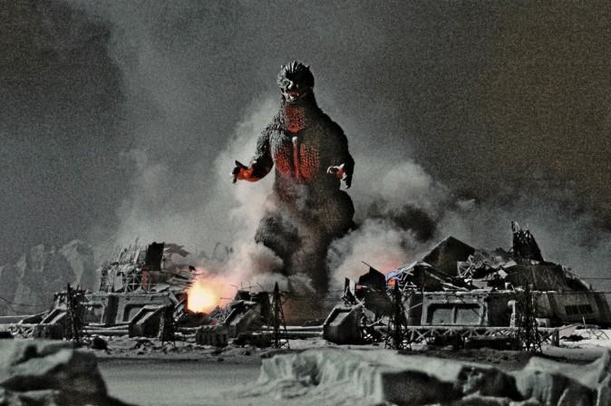 Godzilla de Gareth Edwards avec Aaron Taylor-Johnson et Elizabeth Olsen (2h11)