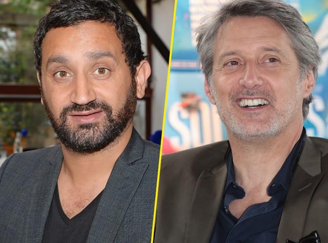 Cyril Hanouna et Antoine de Caunes : petite guerre en famille, les animateurs se taclent !