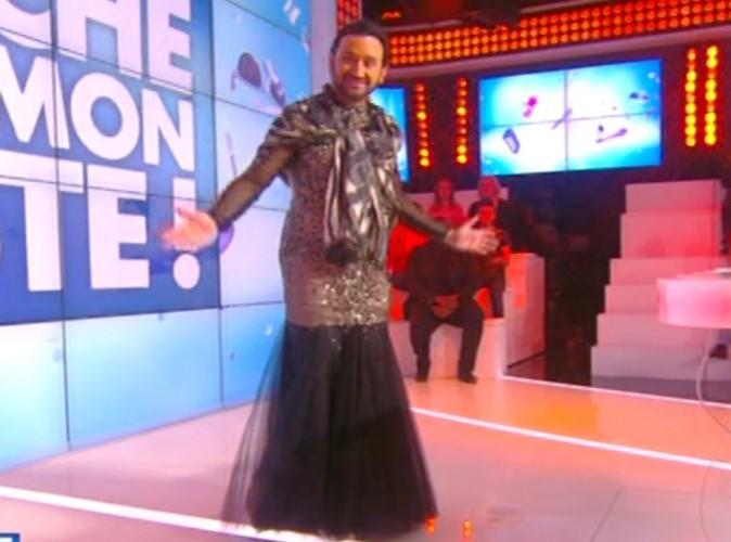 Cyril Hanouna : pari relevé : il présente TPMP en robe !
