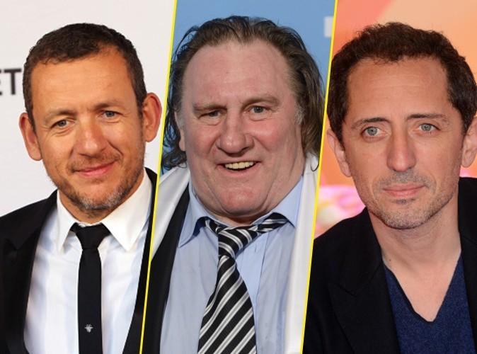 Dany Boon, Gérard Depardieu, Gad Elmaleh : découvrez le palmarès des acteurs français les mieux payés de 2012 !