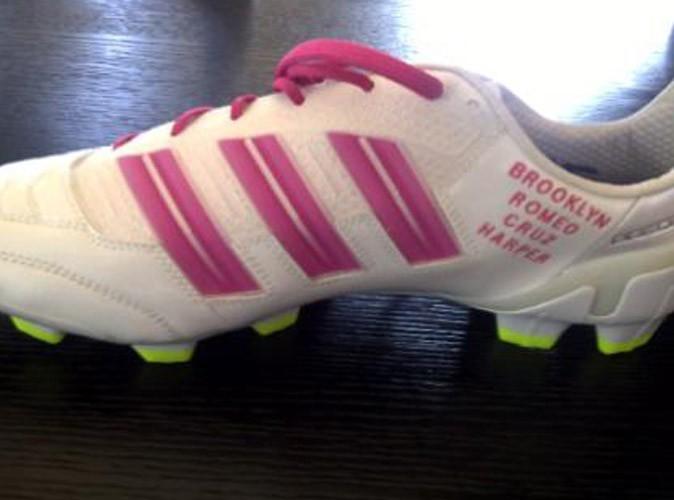 David Beckham : il a fait inscrire le nom de sa fille sur ses chaussures !