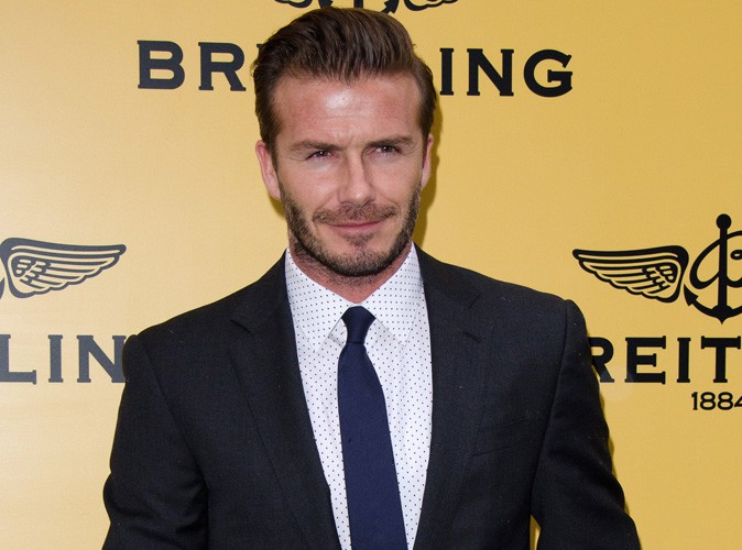 """David Beckham : """"Le bébé royal devrait porter mon nom"""" !"""