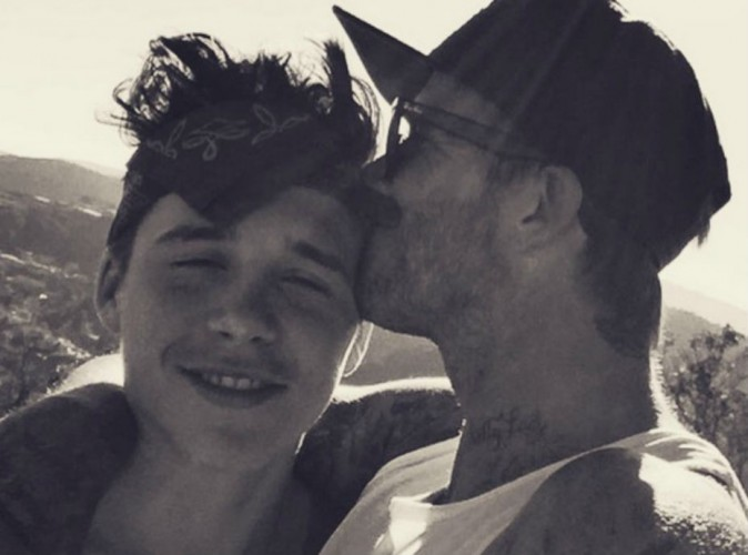 David Beckham : papa gaga, il témoigne tout son amour à Brooklyn, son fils aîné !