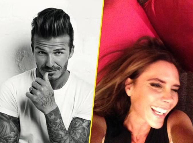 """David Beckham reprend en main la réputation de sa femme : """"Vous voyez, je vous avais dit qu'elle souriait"""" !"""