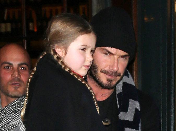 David Beckham : sa petite Harper lui tourne le dos pour un autre homme !