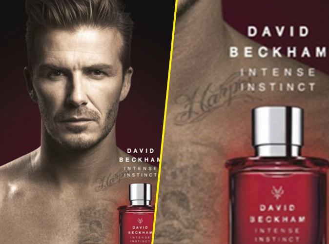 David Beckham : sexy pour son parfum, il met en avant ses tatouages faits pour ses enfants !