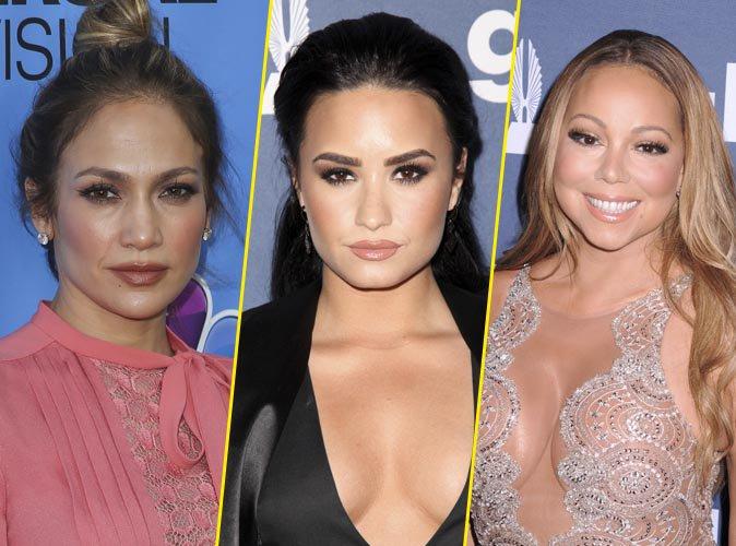 Demi Lovato clashe Mariah Carey et d�fend Jennifer Lopez !