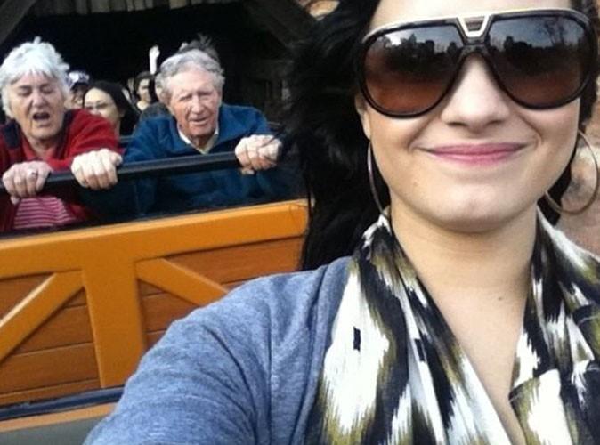 Demi Lovato s'éclate chez Mickey !