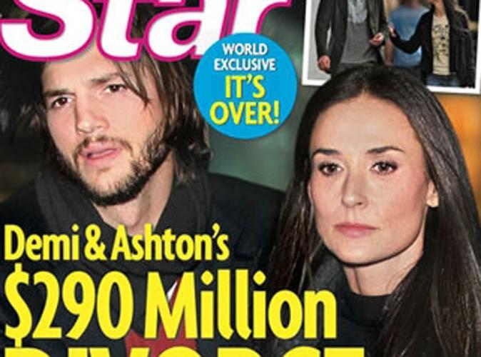 Demi Moore et Ashton Kutcher : bientôt un divorce à 290 millions de dollars ?