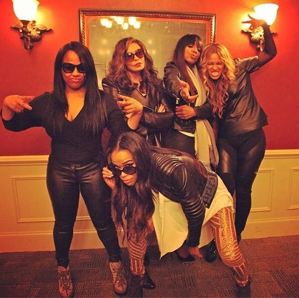 Destiny's Child : moment détente entre filles !