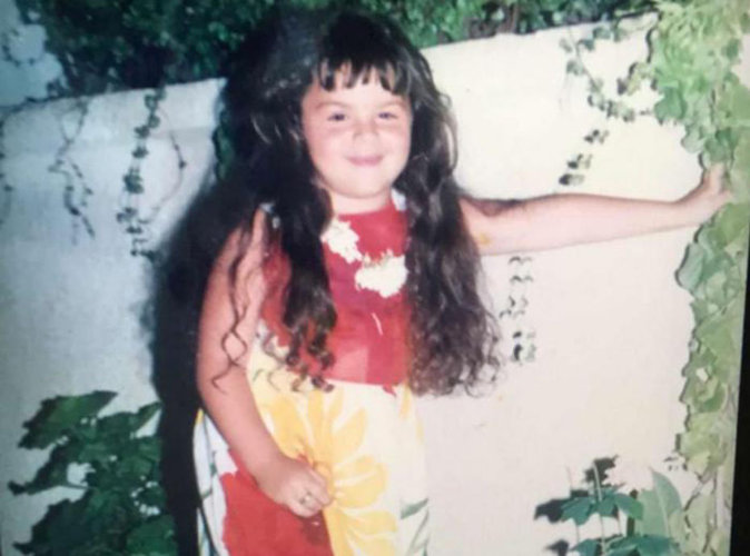 Devinette : Qui est cette petite fille coquette devenue mannequin grande taille ?
