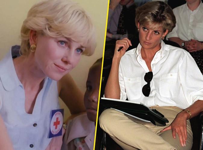 """Diana : un film déjà polémique : Naomi Watts a peur de la réaction de William et Harry, l'ex amant de Lady Di dénonce des """"ragots"""" !"""