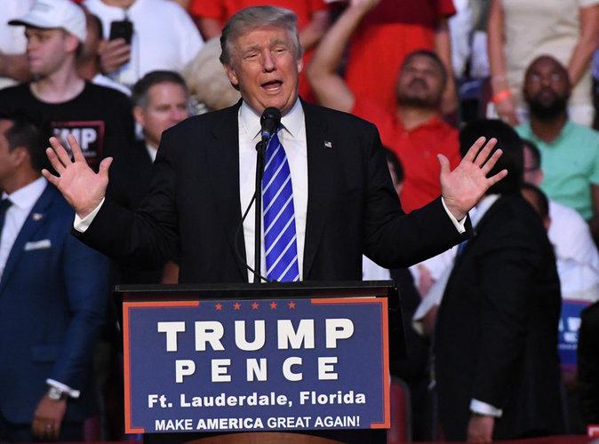 """Donald Trump : """"Le fondateur de Daesh c'est le président Obama"""""""