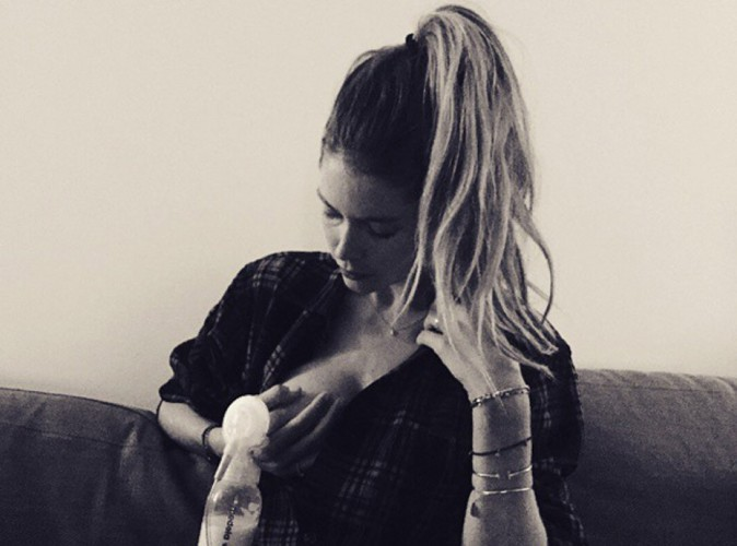 Doutzen Kroes : elle se dénude pour promouvoir l'allaitement !