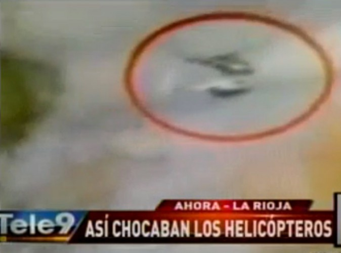 Dropped : Vidéo : des témoins filment les hélicoptères qui se percutent en plein vol…
