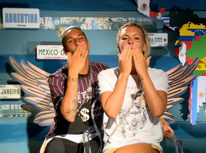 Eddy et Amélie : message spécial des Anges en direct du Brésil !