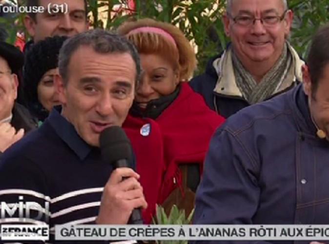 Elie Semoun : face à un ananas, il dérape sur Dieudonné !