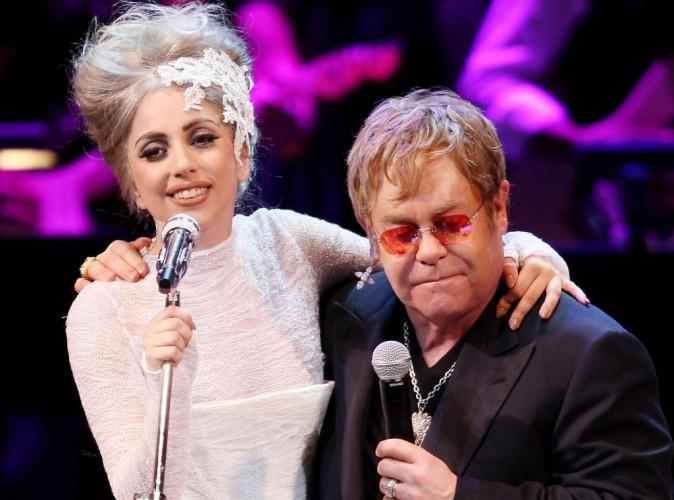 Elton John : il choisit de nouveau Lady Gaga pour être la marraine de son second fils !