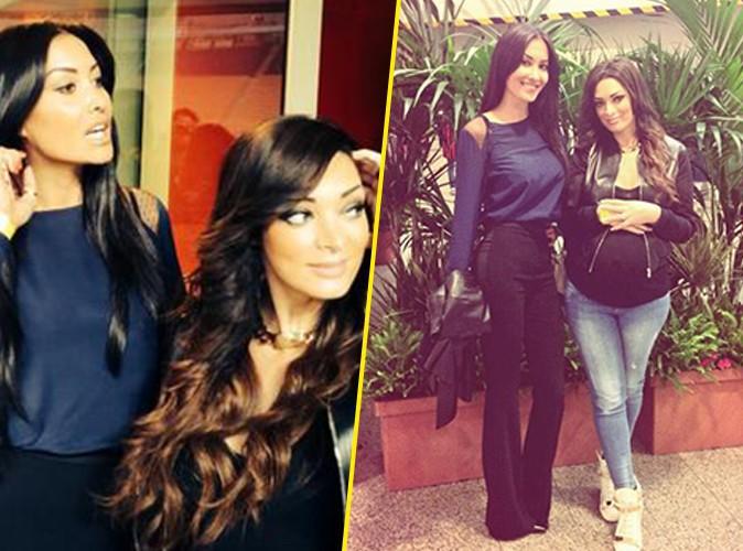 Émilie Nef Naf : une femme enceinte radieuse et complice avec la bombe d'Adil Rami !