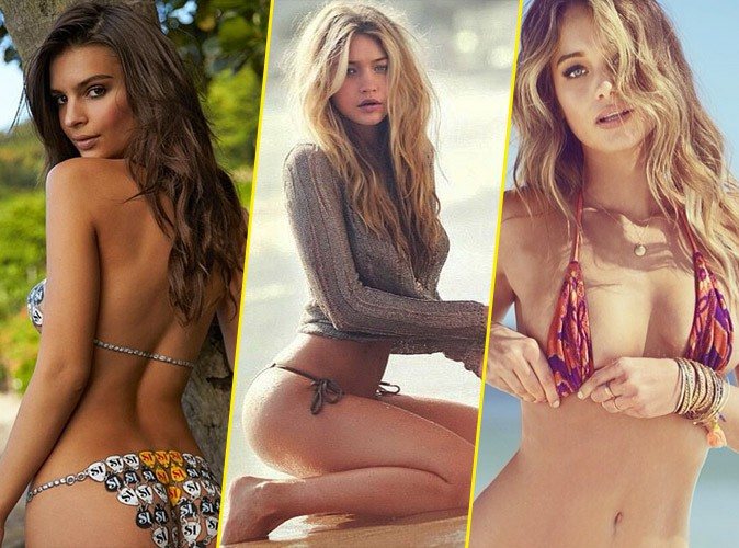 Emily Ratajkowski, Gigi Hadid et Hannah Davis : trois bombes en compétition pour Sports Illustrated !