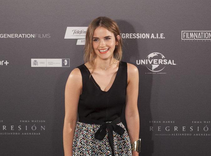 Emma Watson : enfant star � 10 ans dans Harry Potter, elle a connu une pression