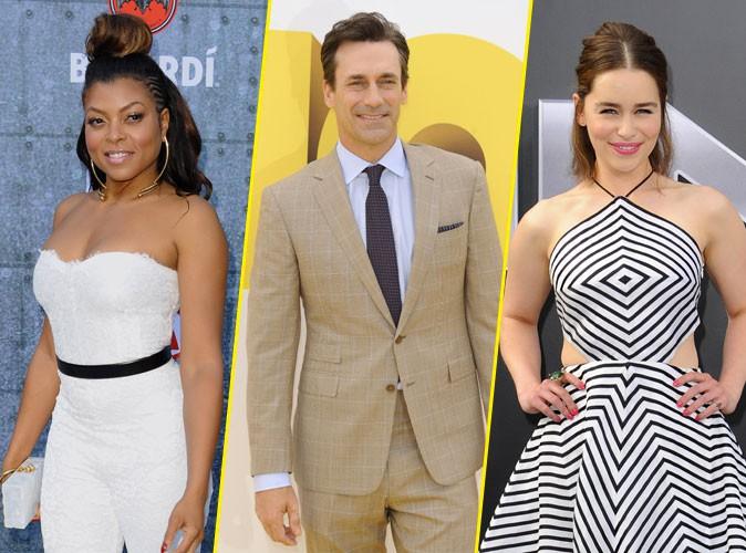 Emmy Awards 2015 : Taraji P.Henson, Jon Hamm, Emilia Clarke… Les nommés sont…