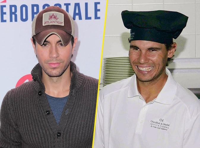 Enrique Iglesias et Rafael Nadal : les beaux gosses passent derrière les fourneaux !