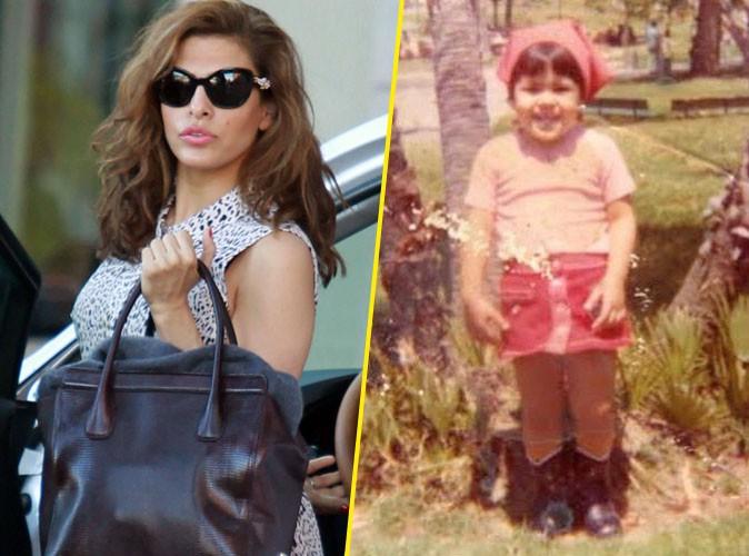 Eva Mendes : elle se d�voile enfant pour ses premiers pas sur Instagram !