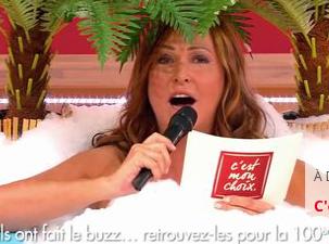 """Evelyne Thomas : elle présente sa 100 eme émission de """"C'est mon Choix"""" nue !"""