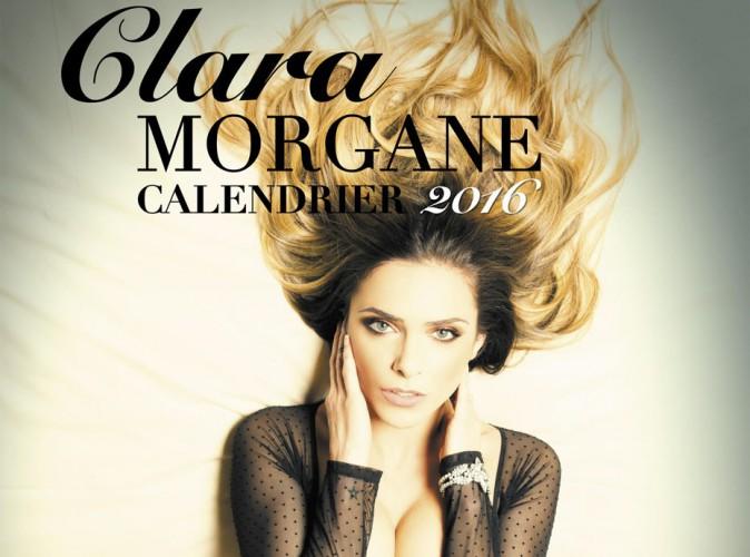 Exclu Public : découvrez la couverture du calendrier sexy 2016 de Clara Morgane !