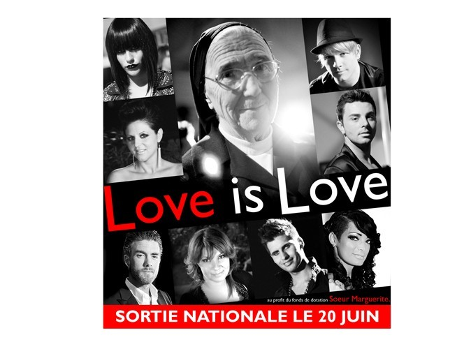 Exclu Public : Love is Love : découvrez la pochette du single humanitaire avec Kenza, Emilie, Bastien ...